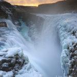 Очень красивый водопад в Исландии