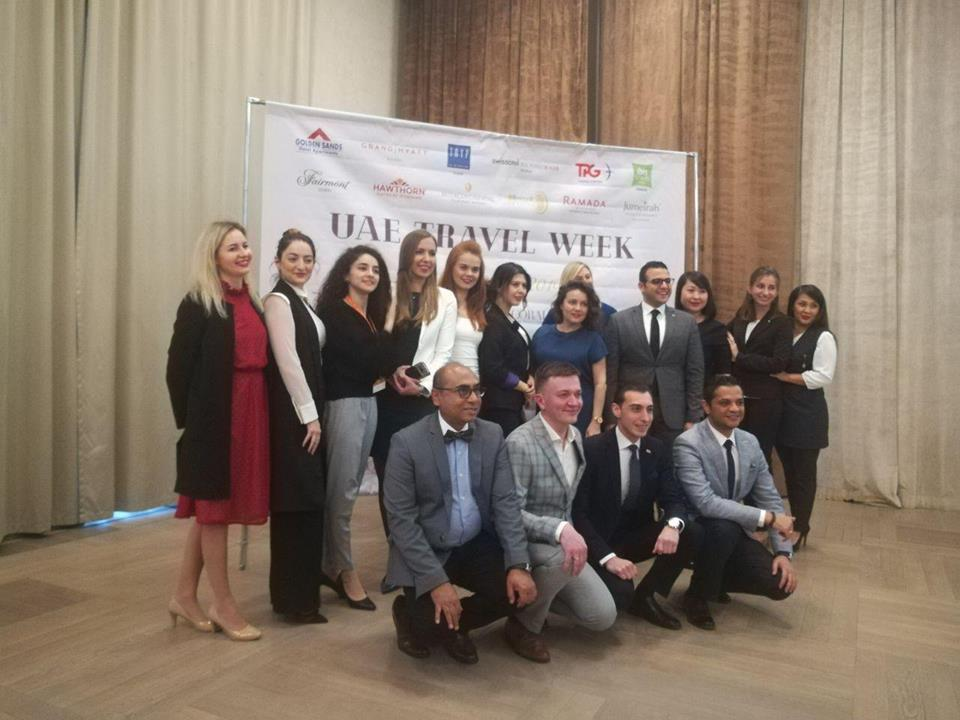 UAE travel week 2019 от TPG