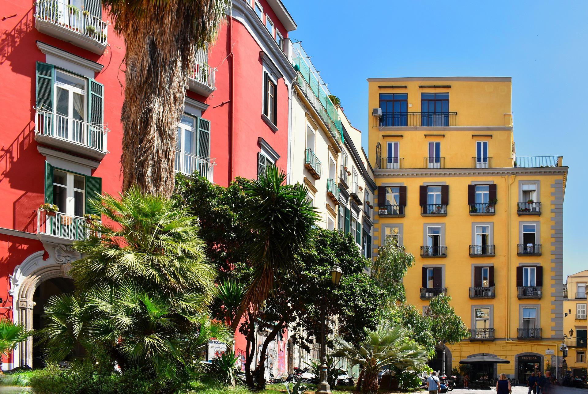 Италия. Уютная улочка.
